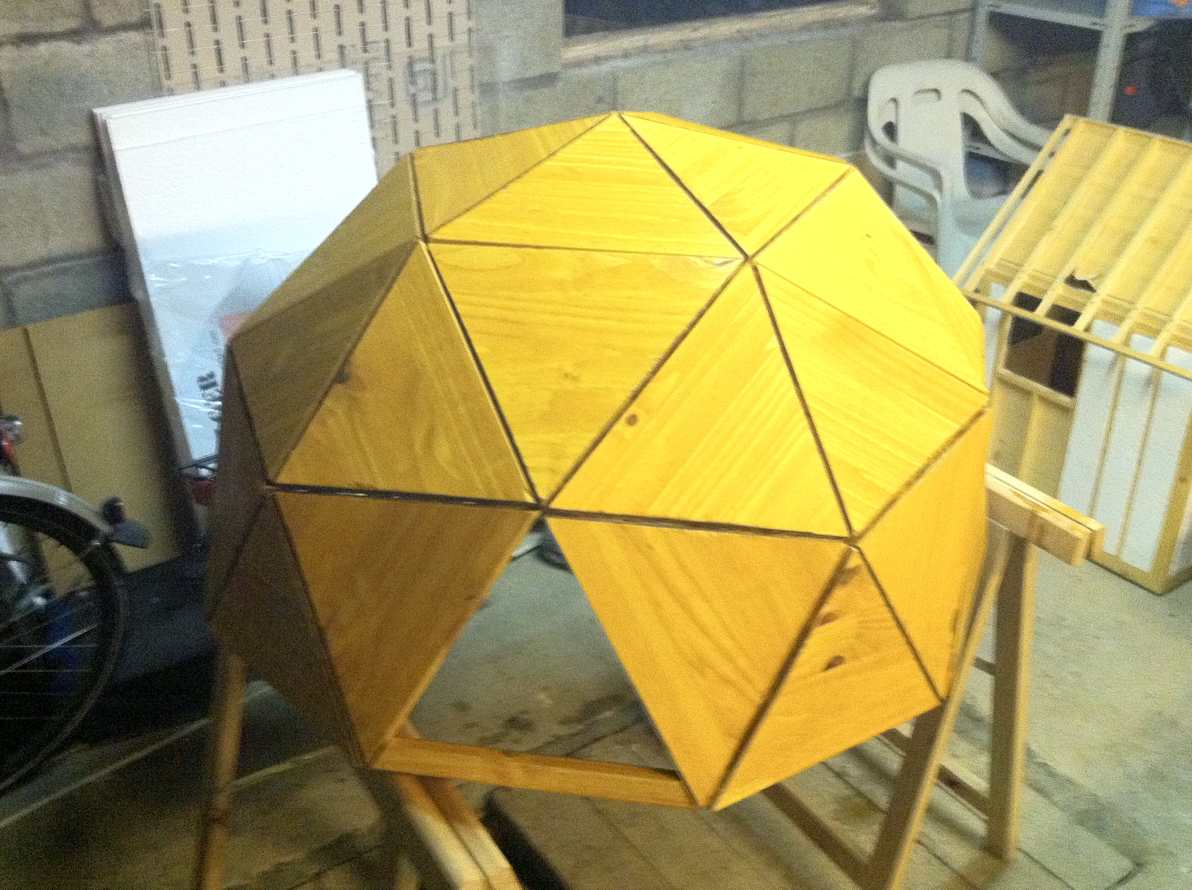 Anthony Liekens Net 187 Misc 187 Geodesic Chicken Dome