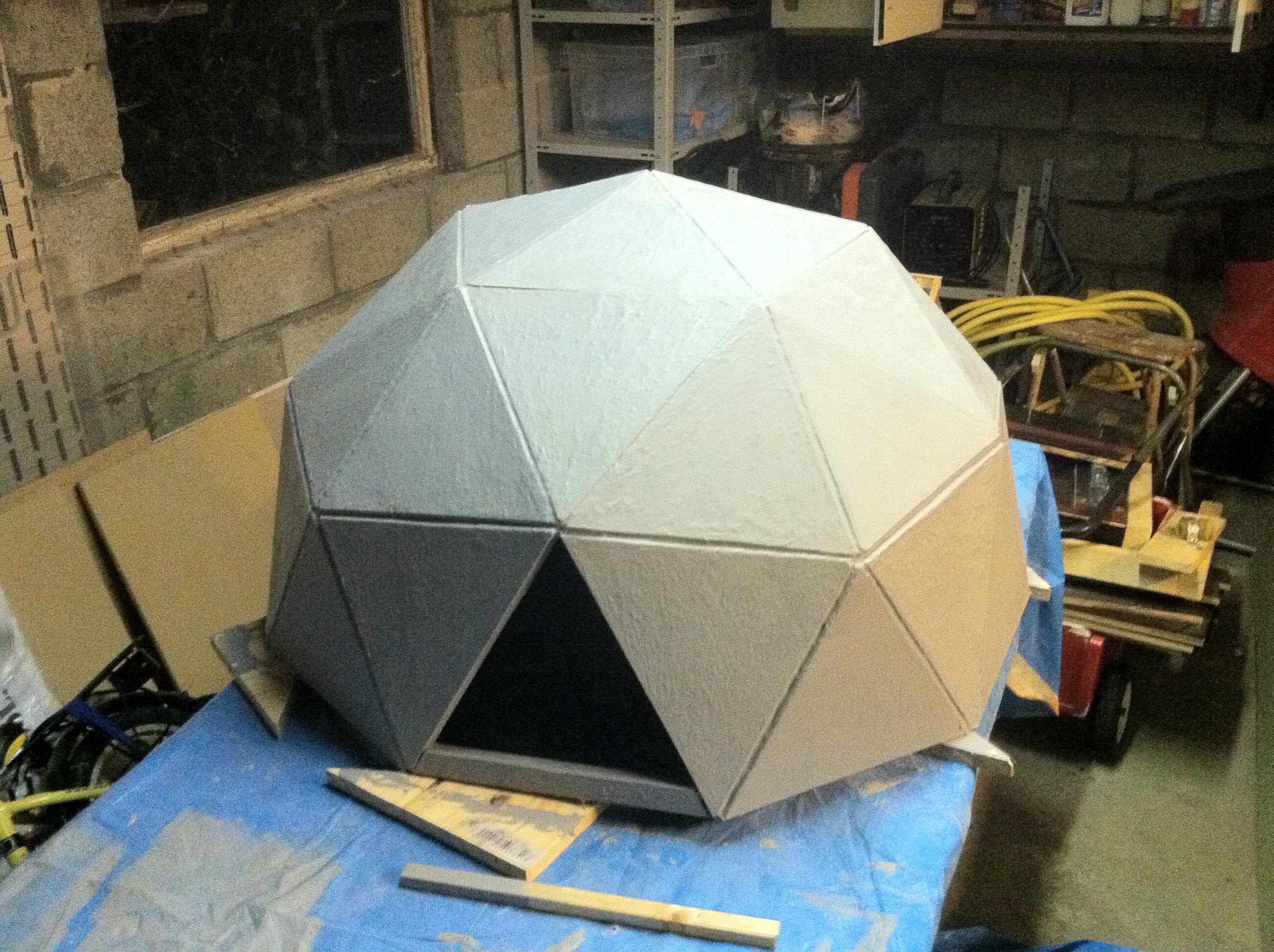 Anthony Liekens Net 187 Misc 187 Geodesic Chicken Dome